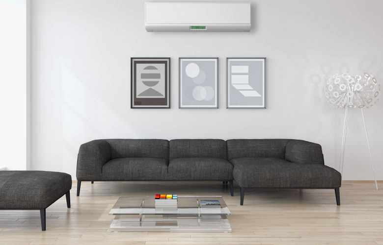 Keep your home comfortable all year long with a ductless split system! Call Paniccia today to learn what a mini split system can do for you!