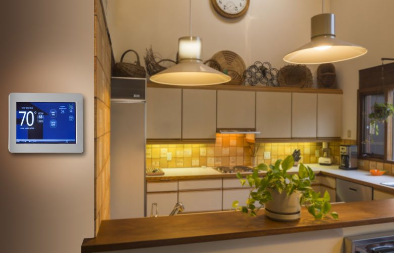 Control your home comfort precisely with a smart thermostat!