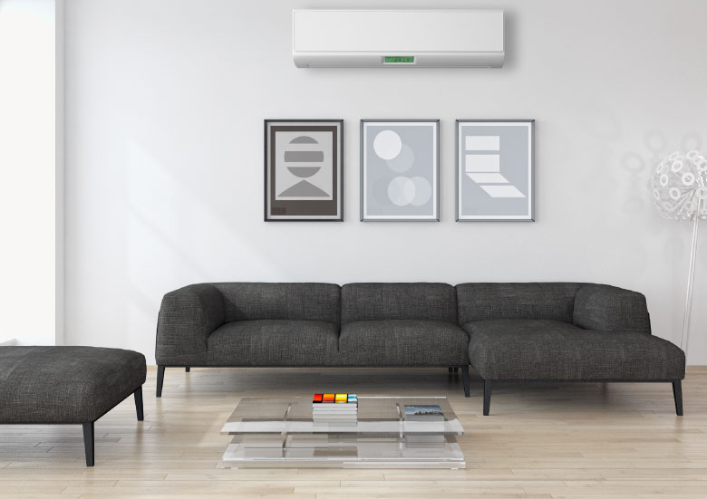 Stay comfortable all year long with the precise zoning of a ductless system!