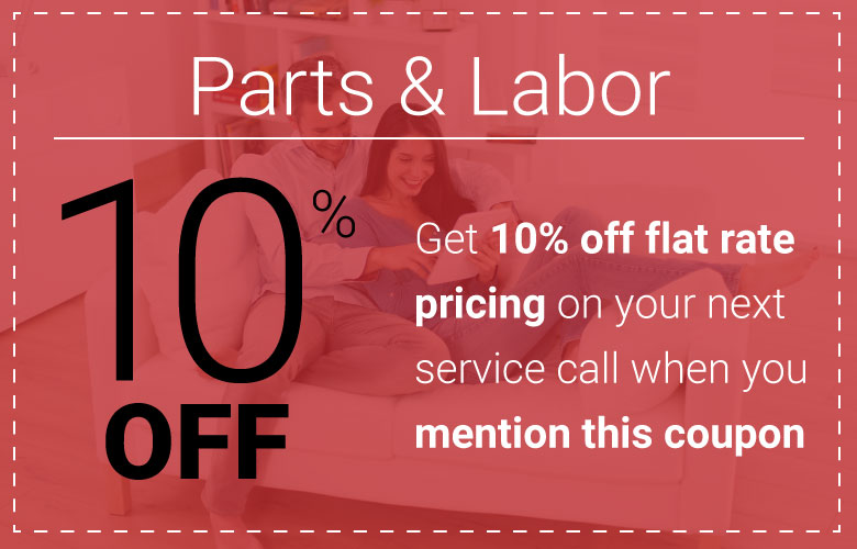 Save 10% on your next service visit!